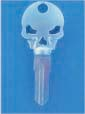 SKULL KEY FOR HARLEY DAVIDSON SPORTSTER 1994 � PRESENT � TKS-1004-234 � CHROME / BLACK
