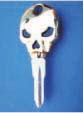 SKULL KEY FOR HARLEY DAVIDSON SPORTSTER 1984 � 1995 � TKS-1007-226 � GOLD / BLACK