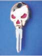 SKULL KEY FOR HARLEY DAVIDSON SPORTSTER 1984 � 1995 � TKS-1008-226 � GOLD / RED
