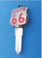 ROUTE 66 KEY FOR HARLEY DAVIDSON SPORTSTER 1994 � PRESENT � TKS-1011-234 � BLACK / RED