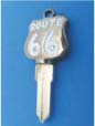 ROUTE 66 KEY FOR HARLEY DAVIDSON SPORTSTER 1994 � PRESENT � TKS-1012-234 � BLACK / WHITE