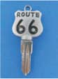 ROUTE 66 KEY FOR HARLEY DAVIDSON SPORTSTER 1984 � 1995 � TKS-1014-226 � CHROME / BLACK
