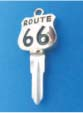 ROUTE 66 KEY FOR HARLEY DAVIDSON SPORTSTER 1984 � 1995 � TKS-1017-226 � GOLD / BLACK