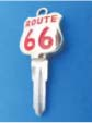 ROUTE 66 KEY FOR HARLEY DAVIDSON SPORTSTER 1984 � 1995 � TKS-1018-226 � GOLD / RED