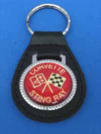 Corvette Stingray Keychain on Licensed Corvette Stingray Keychain Key Chain Ring Fob  142  Cruising