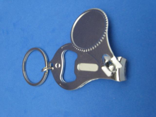 blank universal key ring nail clipper bottle opener 000 ebay. Black Bedroom Furniture Sets. Home Design Ideas