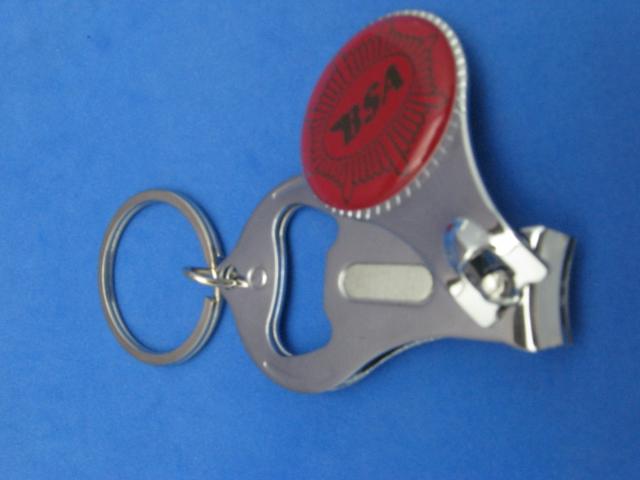 bsa key ring nail clipper bottle opener 276 ebay. Black Bedroom Furniture Sets. Home Design Ideas